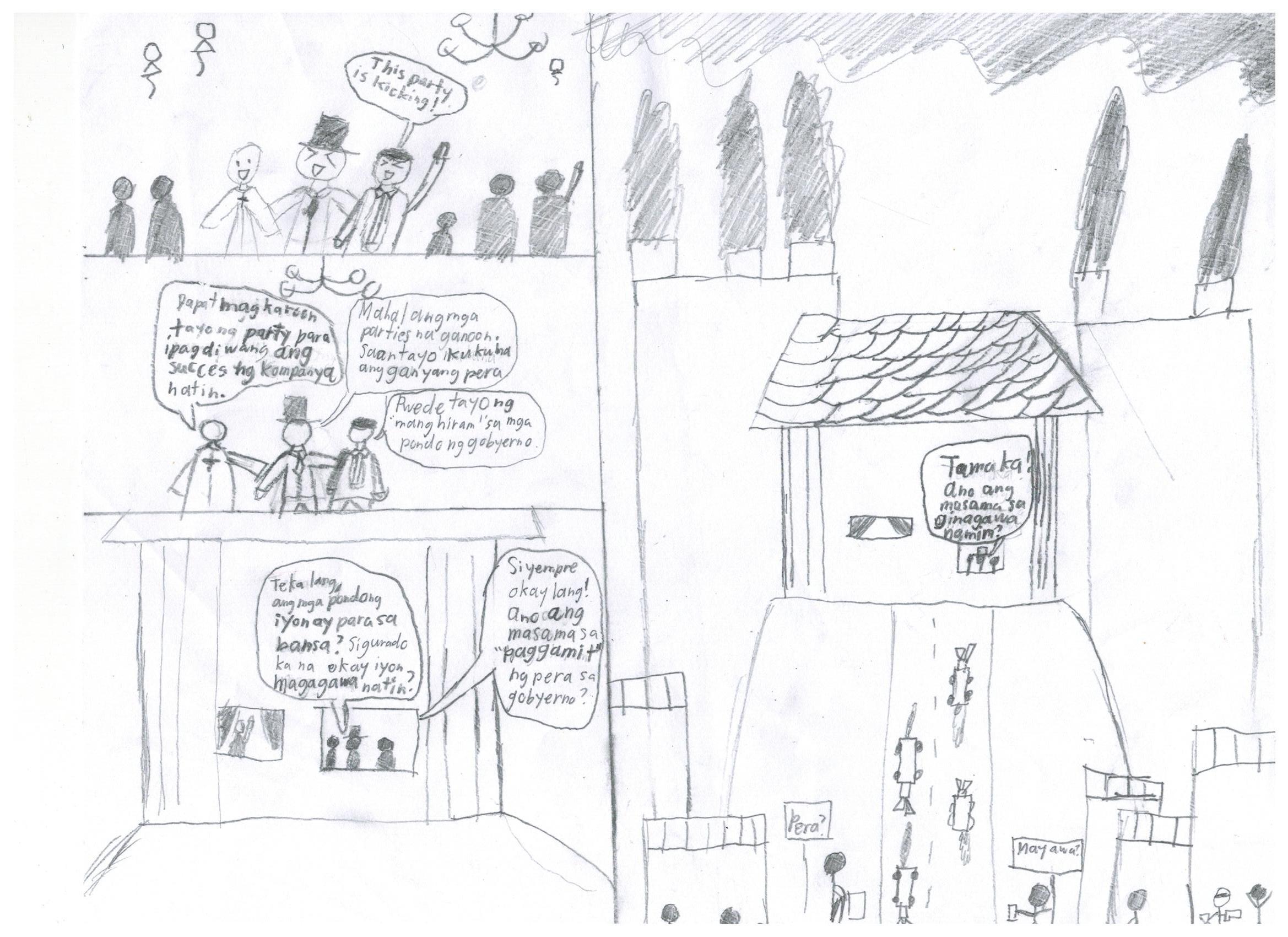 Kabulagan sa Lipunan(Isang Comic strip ni BT ng H3C)   BT's